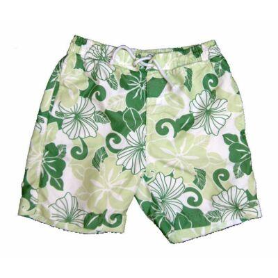 Zöld virágos short (152)