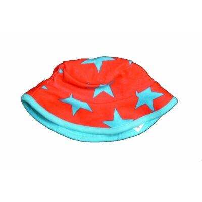 Piros-türkiz csillagos sapi (56)