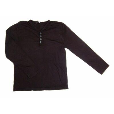 fekete gombos póló (152)