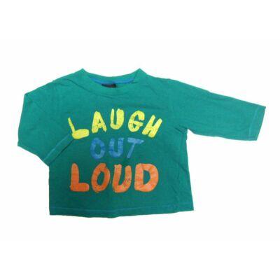 Zöld írásos póló (86)