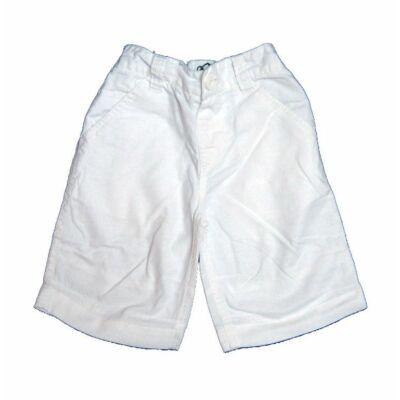 Fehér len short (110)