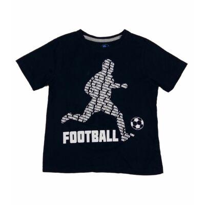 Sötétkék football póló (128)