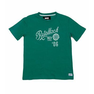 Zöld feliratos póló (140)