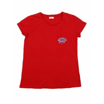 Piros NYC póló (152)