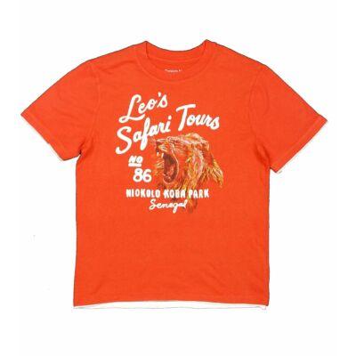 Narancs oroszlános póló (122)