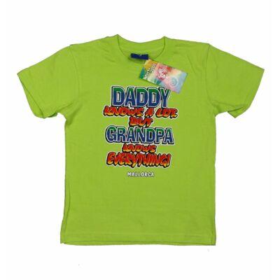 Zöld Daddy póló (104)