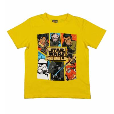 Sárga Star Wars póló (110)