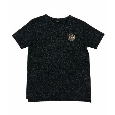 Fekete cirmos póló (140)