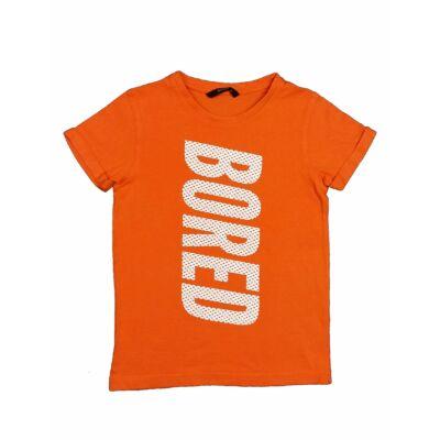 Narancs Bored póló (128)