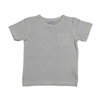 Fehér zsebes póló (98)