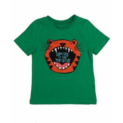 Zöld tigrises póló (116)