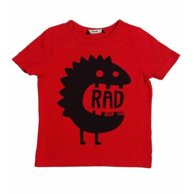 Piros szörnyes póló (98)