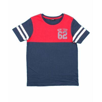 Kék-piros póló (140)
