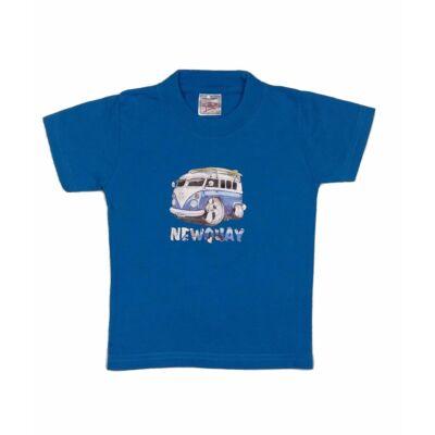 Kék buszos póló (92)