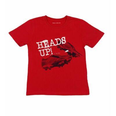Piros focicipős póló (134)
