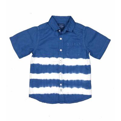 Kék batikolt ing (110)