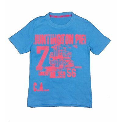 Kék feliratos póló (128)