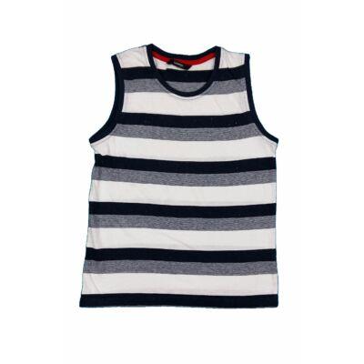 Szürke-fehér csíkos trikó (134)
