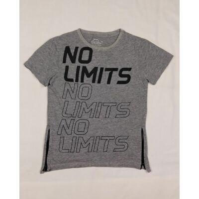 Szürke no limits póló (146)