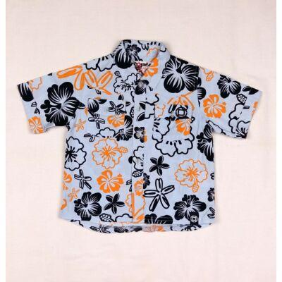 Kék virágos ing (98)