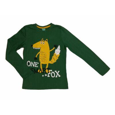 Zöld farkasos póló (134)