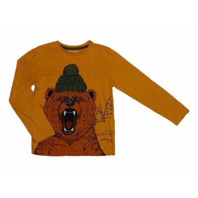 Mustár medvés póló (140)