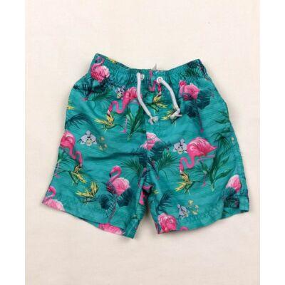 Zöld flamingós short (98)