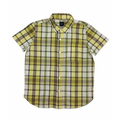 Sárga-zöld kockás ing (134)