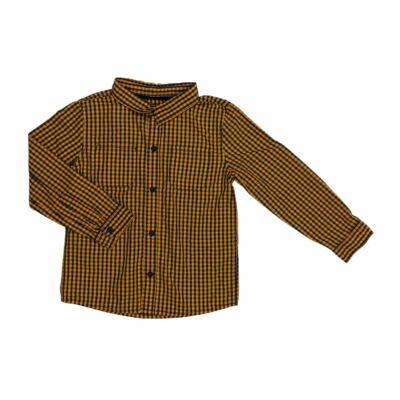 Kék-sárga kockás ing (116)