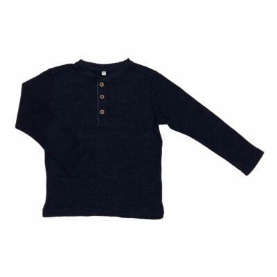 Kék gombos póló (104)