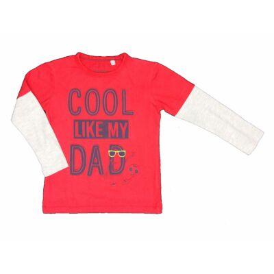 Piros Cool Dad póló (116)