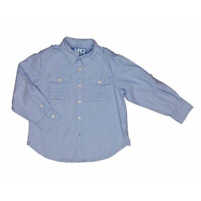 Kék zsebes ing (116)