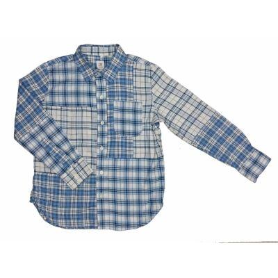 Kék kockás ing (134)