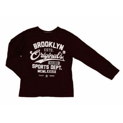 Padlizsános Brooklin póló (140)