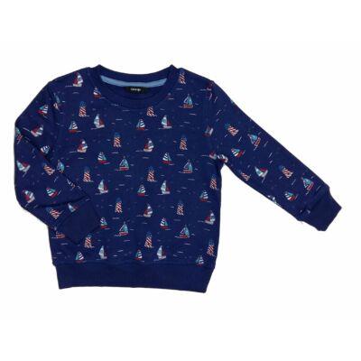 Kék vitorlás pulcsi (98)