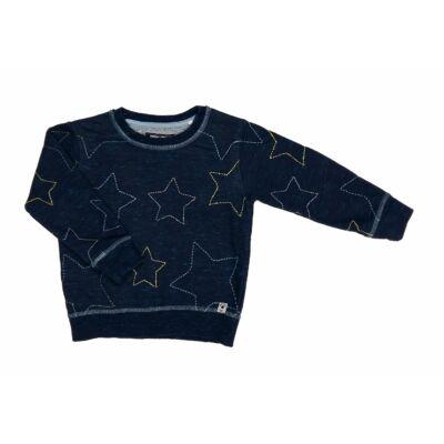Kék csillagos pulcsi (98)