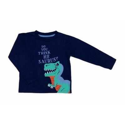 Kék dínós póló (104)
