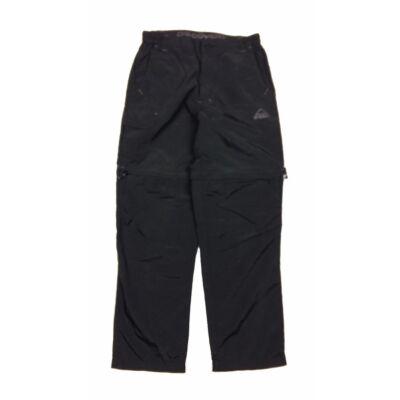 Fekete outdoor nadrág (152)