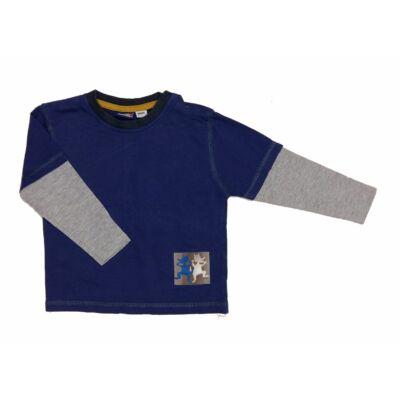 Kék-szürke póló (92)
