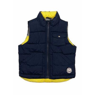 Kék-sárga pufimellény (98)