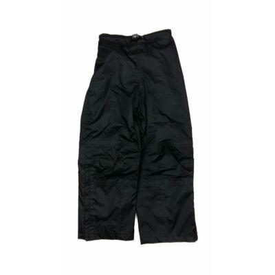 Fekete esőnadrág (116)