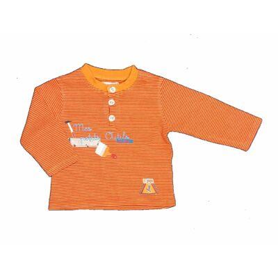 Narancs csíkos póló (68)