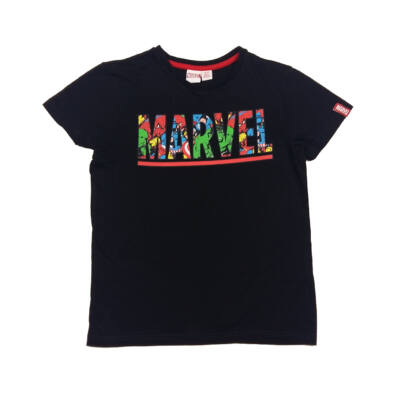 Fekete Marvel póló (140)