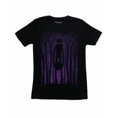 Fekete Minecraft póló (140)