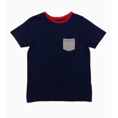 Kék szürke zsebes póló (110)