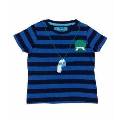 Kék csíkos sípos póló (86)