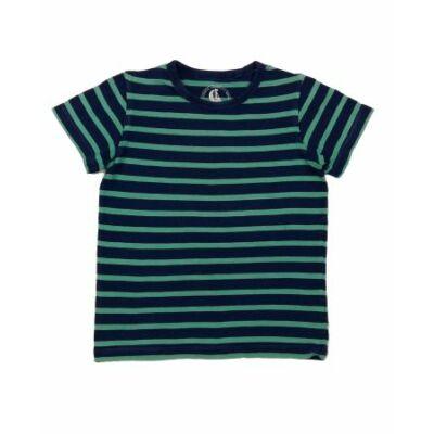 Kék-zöld csíkos póló (116)