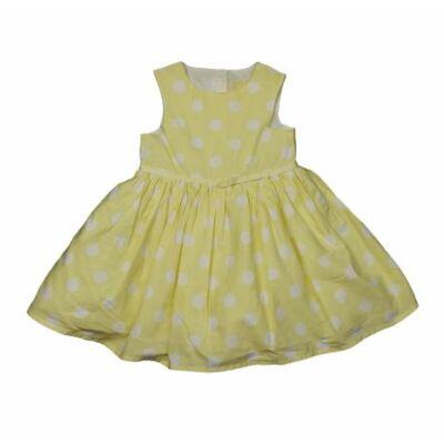 Sárga pöttyös ruha (80)