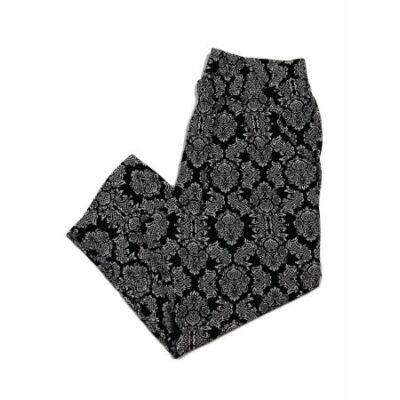 Fekete-fehér mintás lenge nadrág (L)
