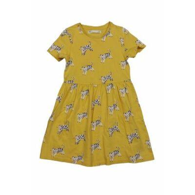 Sárga vadmacskás ruha (122)